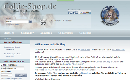 Collie-Shop